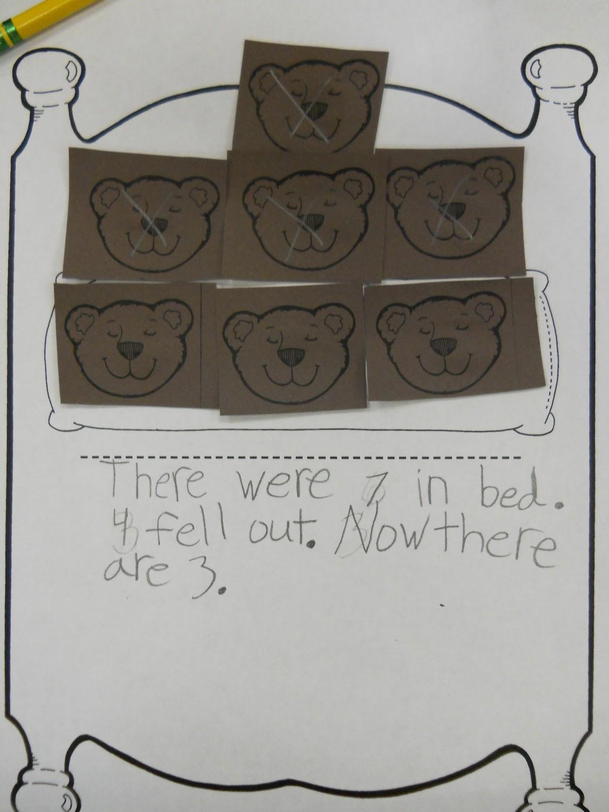 Mrs T S First Grade Class Bear Math
