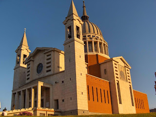 The Basilica of Don Bosco was built between 1961 and 1966