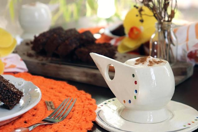 Café com Leite Cremoso com Canela