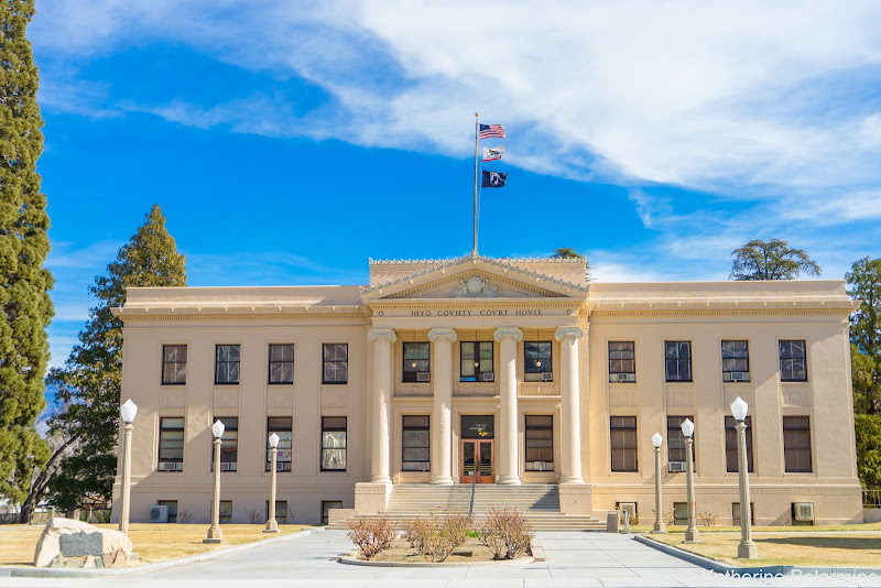 Inyo County Courthouse California Highway 395 Road Trip Attractions