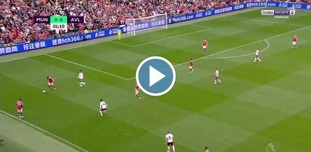 Manchester United vs Aston Villa Live Score