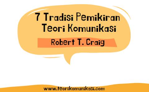 Mengenal 7 Tradisi Pemikiran Teori Komunikasi, Apa Saja?