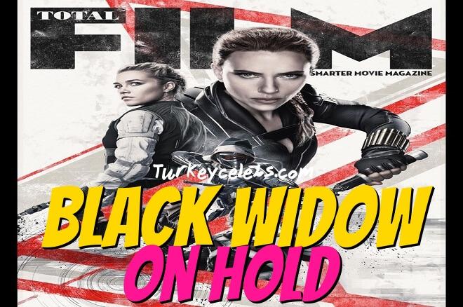 scarlett johansson Marvel black widow on hold