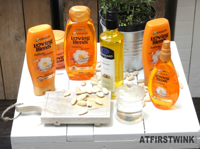 Garnier Loving Blends Argan & Camelia oil