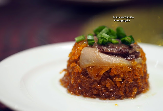 Steamed Glutinous Rice with Cured Wax Meat