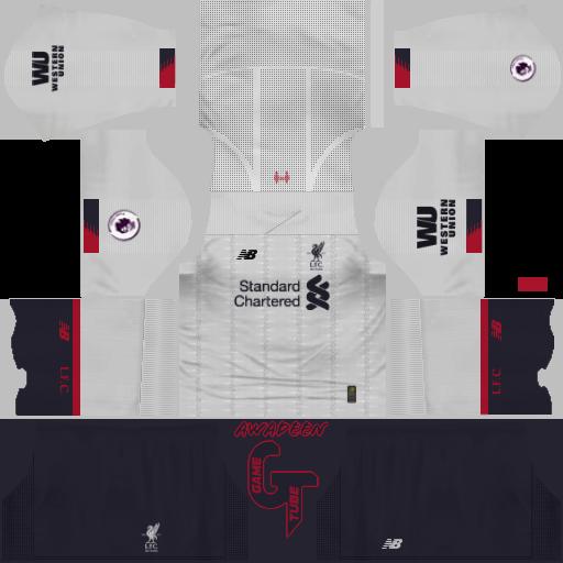 Liverpool FC 2019-2020 Kits Logo For Dream League Soccer