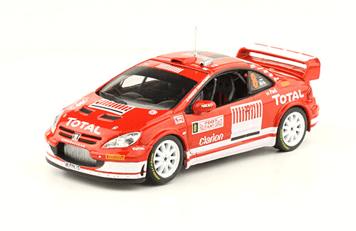 collezione rally monte carlo Peugeot 307 WRC 2005 Markko Martin - Michael Park