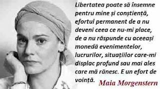 Maxima zilei: 1 mai - Maia Morgenstern