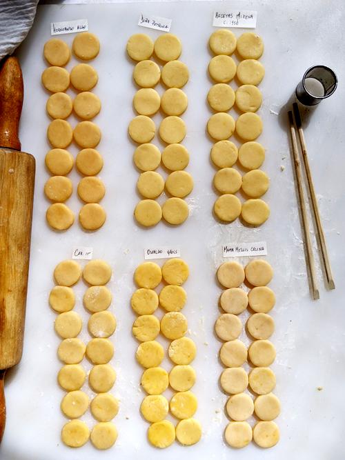 bake off tapitas de alfajores