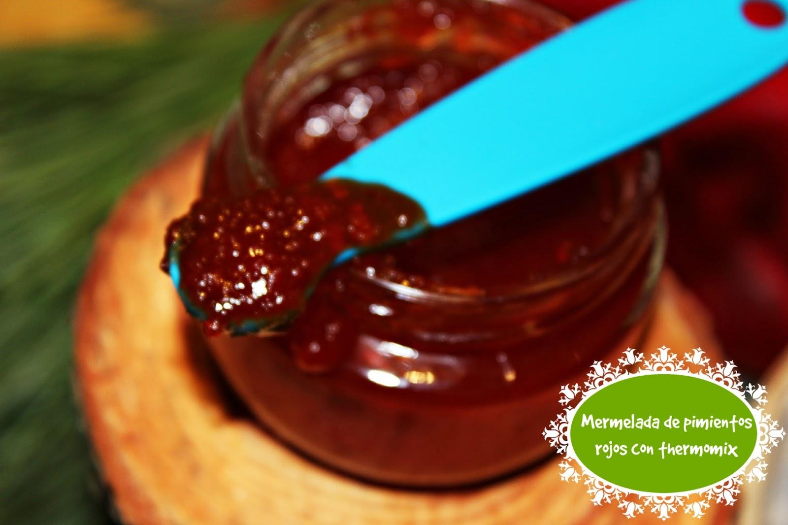 Mermelada de pimientos rojos con thermomix - Mermelada de pimientos rojos ...