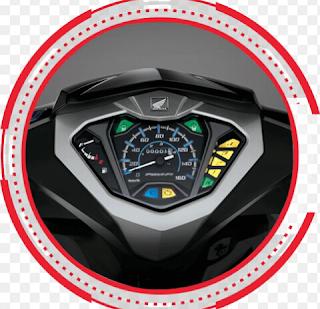 panel speedometer new honda supra x 125 pgm fi