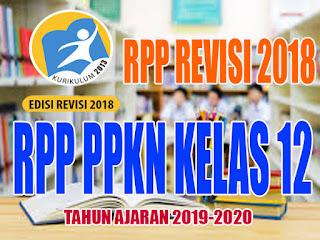 RPP K13 PKn Kelas XII Tahun Ajaran Baru