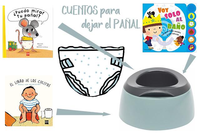 Consejos operación pañal bebé orinal blog mimuselina 5 cuentos para dejar pañales libro de los culitos puedo mirar tu pañal voy al baño solo