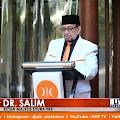 Dalam Pesan Kebangsaan, Dr. Salim Ajak Para Pemimpin Bangsa Berkorban untuk Kepentingan Rakyat