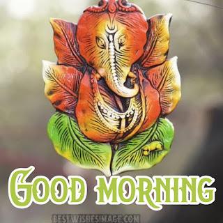 good morning cute ganesh images