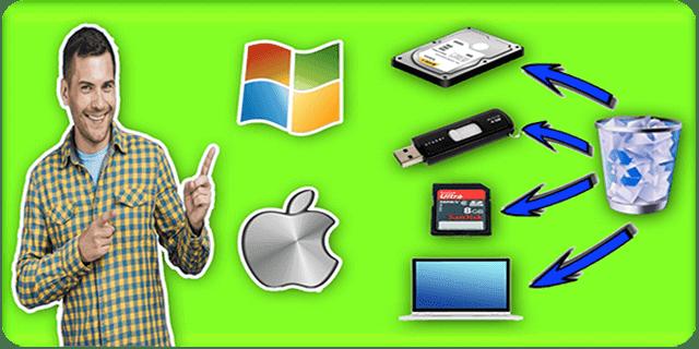 أفضل برنامج استرجاع الملفات المحذوفة من الحاسوب والفلاشة والكارد ميموري لمستخدمي الويندوز والماك