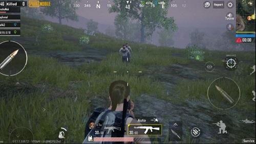 Ngắm bắn chỉ trong PUBG trên di động là rất gian truân với các người mới chơi game bắn súng trên điện thoại