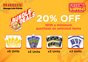Mr DIY offer many discount on 12.12 Shopping Day