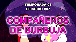 http://frikifrikibeachcity.blogspot.com.es/2015/08/1x07-companeros-de-burbuja-espanol-de.html