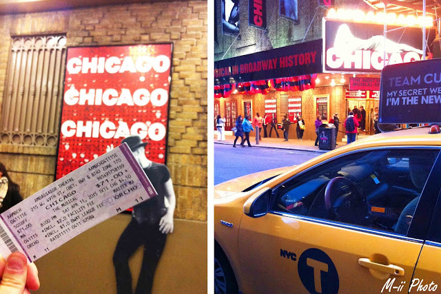 My Travel Background : Une semaine à New York : Chicago Broadway