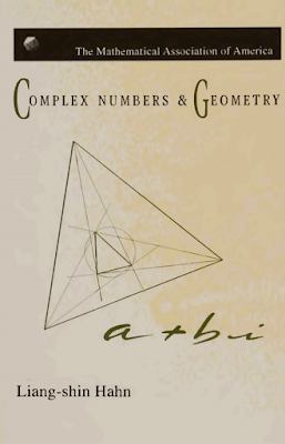 Complex number & geometry by liang shin hahn pdf