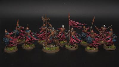 Watchmaster Halgrim and Ulfenwatch Skeletons