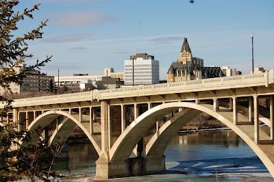Saskatoon river walk