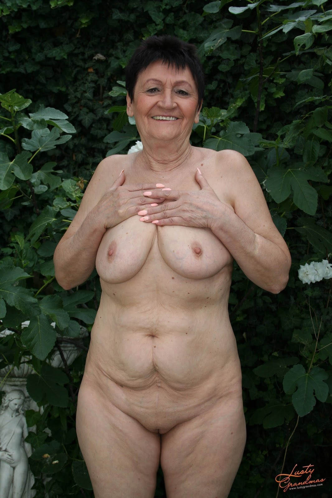archive of old women Granny Anastasia Sex Near The Lake