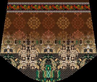 Ladies choli Design - Slive 2474