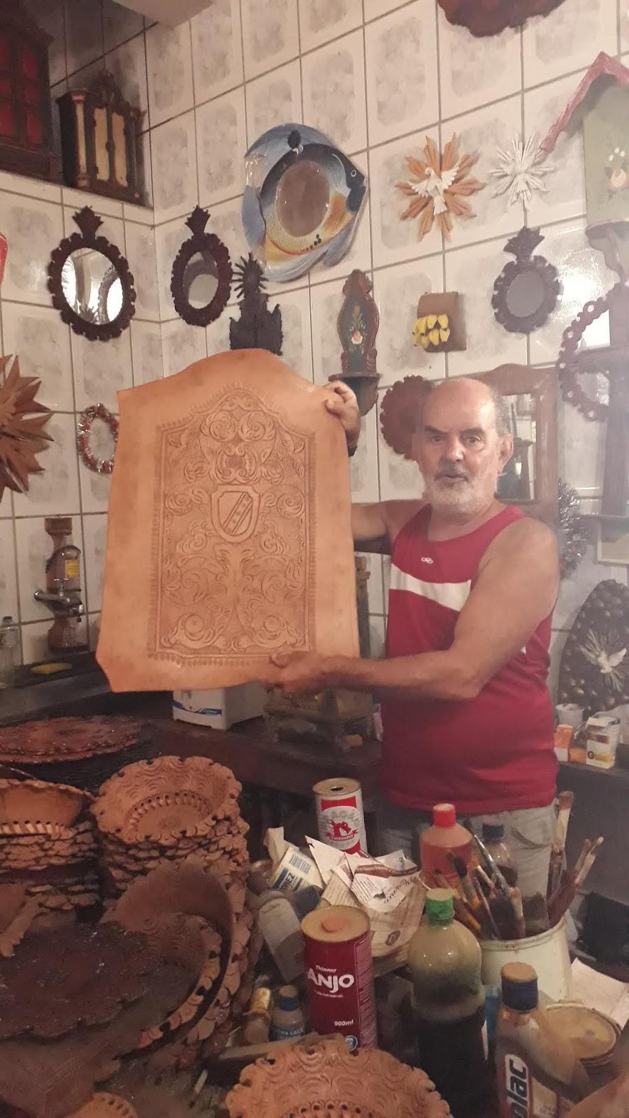 Loja de artesanato do senhor Eurico