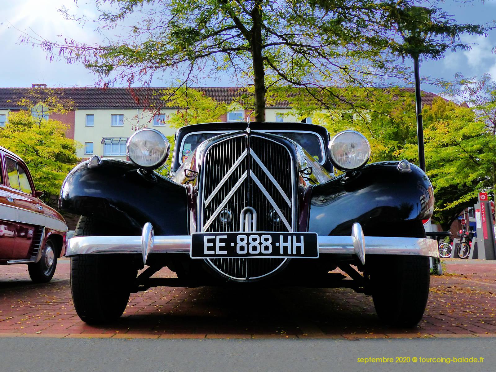 Traction Avant Citroen, Tourcoing 2020