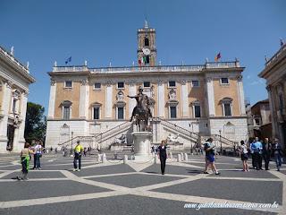 Museus Capitolinos praca capitolio roma turismo roma guia - Museus Capitolinos, os museus mais antigos do mundo