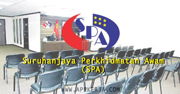 Pemohanan online di Suruhanjaya Perkhidmatan Awam Malaysia (SPA) - April 2018