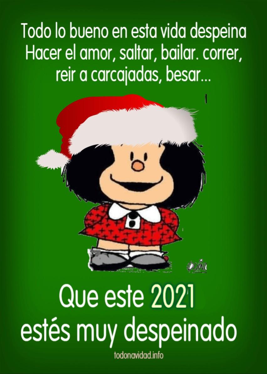 Mafalda en Navidad y 2021 - TODO NAVIDAD