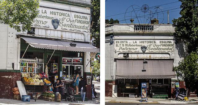 Mercearia tradicional no bairro de Palermo, Buenos Aires