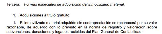 Resolución ICAC normas registro valoración inmovilizado material inversiones inmobiliarias