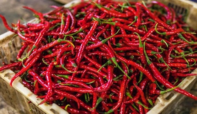 Peppers Ranked by Scoville Heat Units #Infographic