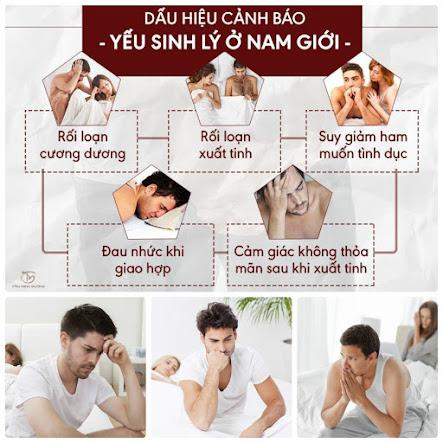 Dấu hiệu cảnh báo bệnh yếu sinh lí ở nam giới