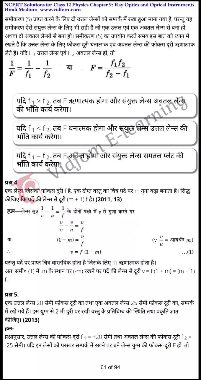 class 12 physics chapter 9 light hindi medium 61