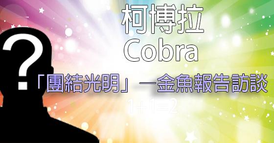 [揭密者][柯博拉Cobra]2017年6月22日:「團結光明」—金魚報告訪談