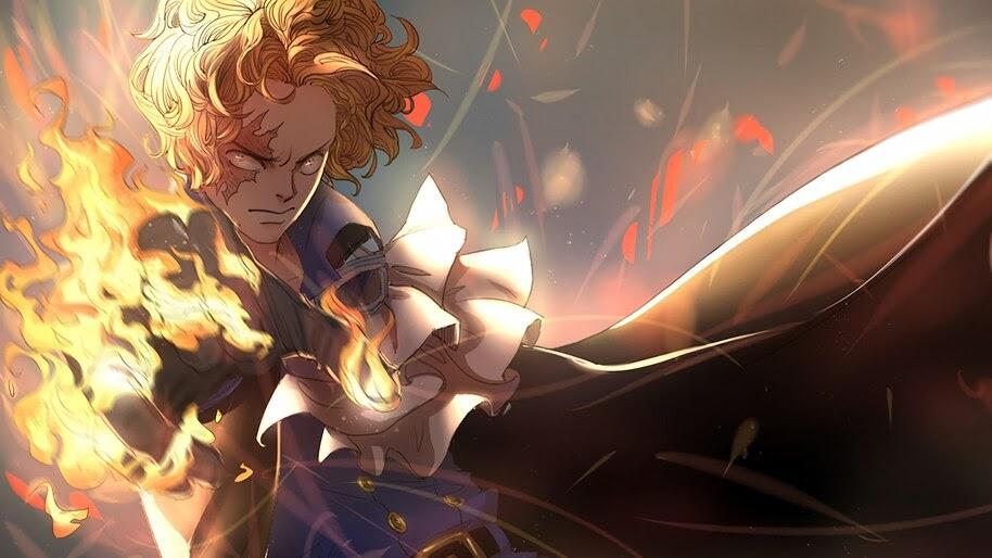 Sabo, Flame, One Piece, 4K, #6.128