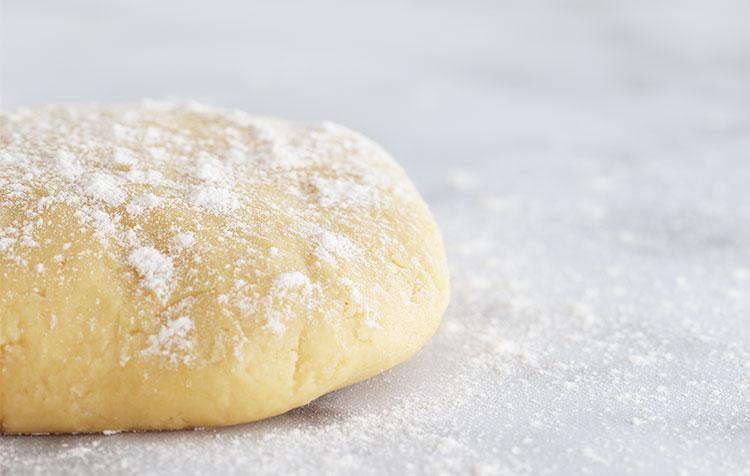 recette de la pâte sucrée