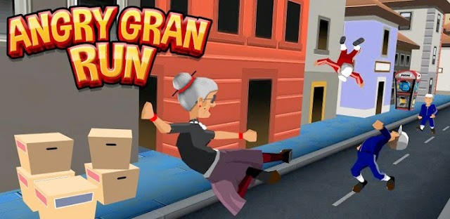 Angry Gran Run Mod Apk v1.70 Unlimited Coins Last Version ...