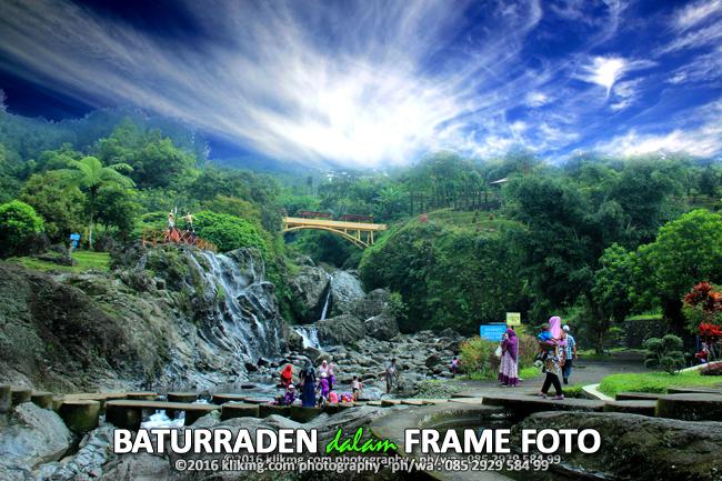 BATURRADEN dalam FRAME FOTO - Foto oleh Klikmg Fotografer Purwokerto