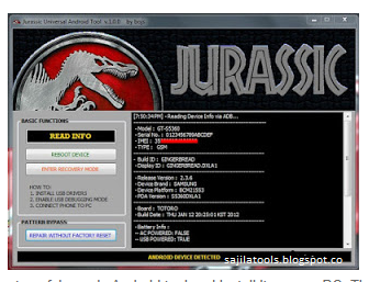 Jurassic Android Tool V5 0 3 Full And Free Download Free 2017