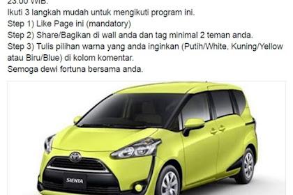 Hati-hati dengan Kuis Produk Motor atau Mobil Baru seperti ini!
