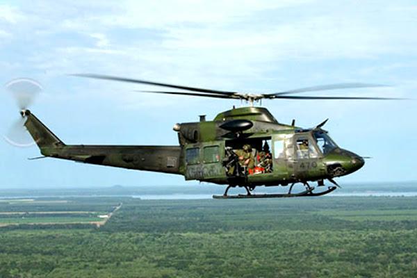 Desaparece helicóptero con 13 personas a bordo en Amazonas