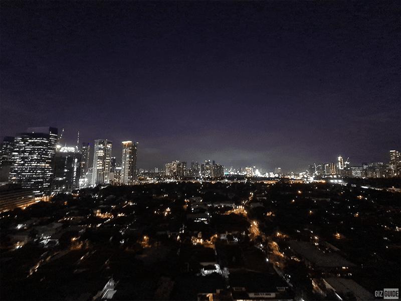 Low light 0.5x ultra-wide rear camera