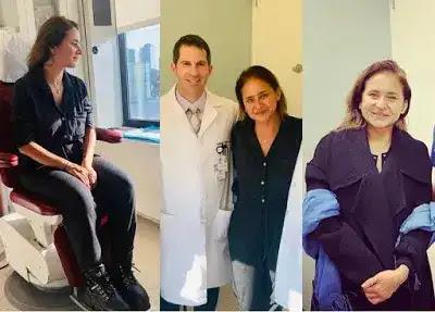 إنقاذ حياة نيللي كريم بعد أجراء عملية جراحية - تشكر الأطباء (شكرا أنقذتوا حياتي)