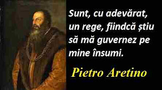 Maxima zilei: 20 aprilie - Pietro Aretino